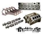 5C parts (cylinder block, crankshaft, cylinder head , camshaft and connecting rod)